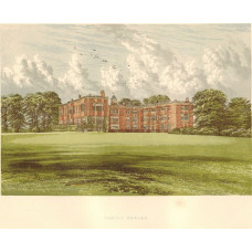 View of  the Country House, Temple Newsam.
