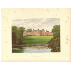 View of  the Country House, Lawton Hall.