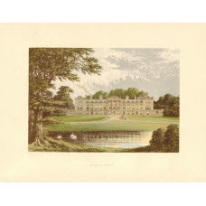 View of  the Country House, Woburn Abbey.