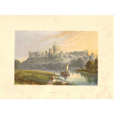 View of  the Country House, Windsor Castle.