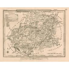 Map. Montgomeryshire.