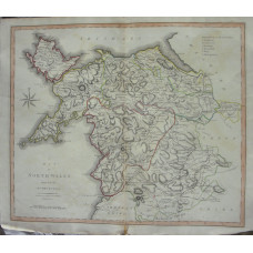 A Map of North Wales from the Best Authorities.