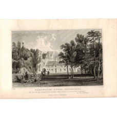 View of  the Country House, Dartington House.