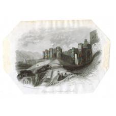 'Entrance to Scarborough Castle',