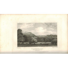 View of  the Country House, St Leonard's Hill the Seat of Earl Harcourt after J.P. Neale by J. Pye.