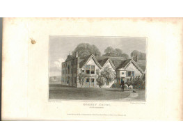 View of  the Country House, Dorney Court the Seat of Sir Charles Harcourt Palmer after J.P. Neale by J. Bishop.