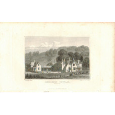 View of  the Country House, Endsleigh Cottage the Seat of the Duke of Bedford after J.P. Neale by Miss F. Byrne.