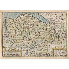 Denbigh and Flint Described. Miniature map