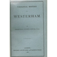 Parochial History of Westerham.