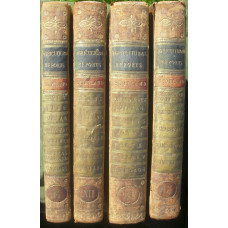 24 Eighteenth Century Agriculture Reports in 4 Vols.   The counties are ?Carse of Gowrie in the County of Perth?, ?County of Clackmannan?, ?County of Clydesdale?, ?County of Dumbarton?, ?County of Dumfries?, ?County of Elgin or Moray, Lying between the Sp