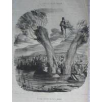 Tout Ce Qu on Voudra. No. 21 'Un mari brule du feu de la jalousie'. Husband spies on a couple walking from a pond.