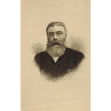 Head and Shoulders, wearing pince nez, by S. Hollyer [1826-1919]