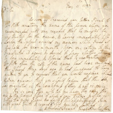 AUTOGRAPH LETTER SIGNED, 'Nugent Buckingham' 11 May 1792, concerning an appointment to the Excise,