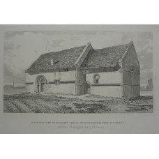 'South East View of St Mary's Chapel at Stourbridge near Cambridge'.