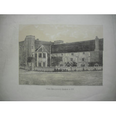 'Walton Abbey prior to the Alterations in 1857'