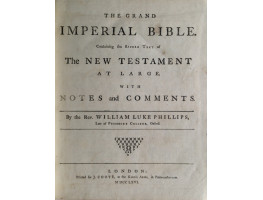 The Grand Imperial Bible. 3 Vols.