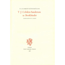 T.J. Cobden-Sanderson as Bookbinder. Translated by I. Grafe.