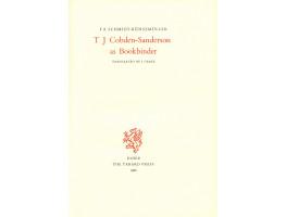 T.J. Cobden-Sanderson as Bookbinder. Translated by I. Grafe.