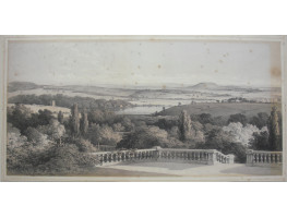 'View looking S.E. from Mannamead'  and 'View Looking S. from Mannamead' After S. Cook by G. Hawkins.