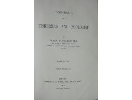 Log-Book of a Fisherman and Zoologist.