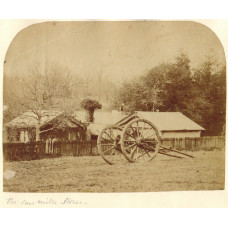 Four Photographs of Stowe: Palladium Bridge, Palladium Bridge over lake, and 'The Saw Mills'.