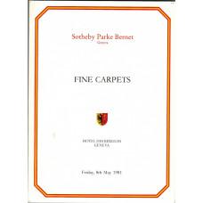 Fine Carpets. 8 May 1981.