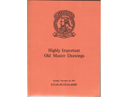 Highly Important Old Master Drawings. 29 November 1977.