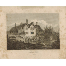 View of  the Country House, Marks Hall after S. Prout by J. Greig.