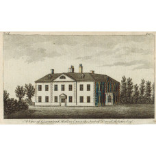 View of  the Country House, Greenstead Hall, Seat of David Rebotier.