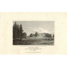 View of  the Country House, Felix Hall. Seat of C.C. Western, Esq. After J. Grieg by T. Higham.