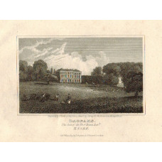 View of  the Country House, Dagnams The Seat of Sir Thos. Neave. After J. Greig by J. Hawksworth.