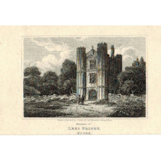 The Remains of Lees Priory By and  After J. Grieg.