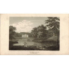 View of  the Country House, Wycombe House, after W. Hanman by J. Greig.