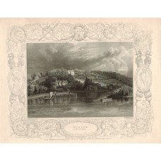 """""""Hedsor Lord Boston's"""" with decorative border,"""
