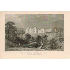View of  the Country House, Brancepeth Castle, after T. Allom by T. Jeavons.