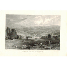 View of  the Country House, Gibside after T. Allom by T.A. Prior.