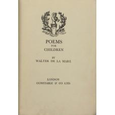 Poems for Children.