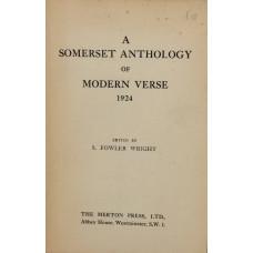 A Somerset Anthology of Modern Verse 1924.