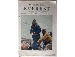 The Times Everest Colour Supplement.
