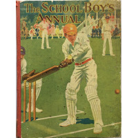 The School  Boy's Own Annual. Tales of School Life Sport and Adventure.