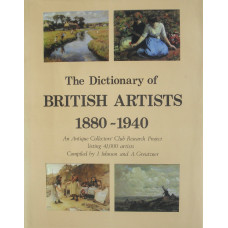 The Dictionary of British Artists 1880-1940.